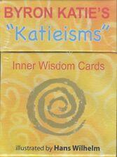 """NEW Byron Katie's """"Katieisms"""" Inner Wisdom Cards Deck Byron Katie"""