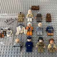 LEGO Star Wars Minifigure Bundle Job Lot Imperial Officer Rebels Pilot Used