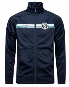 Nike FC Chelsea 2018/2019 Training Jacket Full Zip Blue/ Silver AJ4067 455 New S