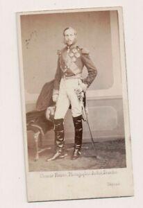 Vintage CDV Prince Philippe De Belgique, Comte De Flanders Ghemer Freres Photo