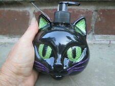 Black Cat Face Hand Soap Simple Pleasures Scary Berry Green Glitter New Cleaner