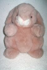 Westcliff Collection Bunny Rabbit Plush Rose Floppy Stuffed Animal Play Toy 11""