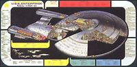 "Original Vintage Star Trek Next Generation Cutaway Poster w Tech Data- 24"" x 48"""