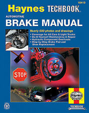 Automotive brake manual techbook Haynes  Repair Manual- Specialized 10410