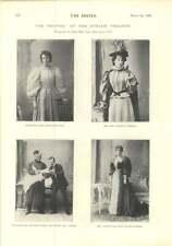 1896 Miss Marion Morris Miss Gwendolen Floyd Miss Enid Spencer Brunton
