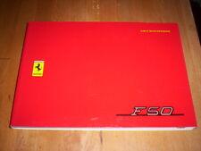 ORIG. Betriebsanleitung Ferrari F50 F 50, '95, Owner's Manual Uso e Manutenzione