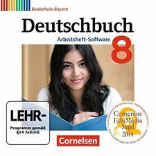 PC Deutschbuch Realschule Bayern / 8 Jahrgangsstufe ÜbungsCDROM zum Arbeitsheft