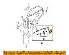KIA OEM 03-09 Sorento Rear Door-Lock or Actuator Latch Release 814103E000