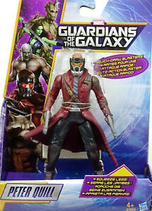 """MARVEL GUARDIANS OF THE GALAXY STAR-LORD 5"""" INCH / ca. 14 cm ACTIONFIGUR HASBRO"""