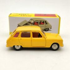 Atlas Dinky Toys 1416 Renault 6 Yellow Diecast Models Collection Cars 1/43