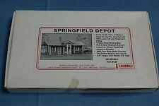 Amerrican Model Builders, Laserkit 138 Springfield Depot