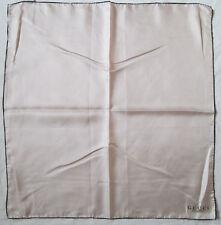 -Authentique Foulard tour de cou GUCCI soie TBEG  vintage scarf  60 x 60 cm