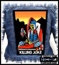 KILLING JOKE - Empire Song --- Huge Jacket Back Patch Backpatch
