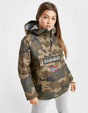 Q# Womens Napapijri Rainforest Winter Jacket Green UK XS