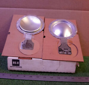 """2 NEW BSB SAFETY SYSTEM TYPE B 3"""" RUPTURE DISCS NIB ***MAKE OFFER***"""