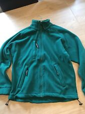 MEDIUM 38 TO 40 CHEST Warrior Baltimore  Fleece  Jacket GREEN FISHING HIKING