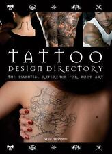 Tattoo Design Directory by Vince Hemingson (2009, Spiral) BRAND NEW