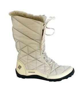 Columbia Women's Powder Summit Waterproof Winter Boots 6, 6.5, 7 Size