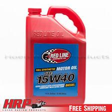 RedLine-15W40 Synthetic Diesel Oil -1 Gallon - PN: 21405