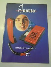 MANUALE D'ISTRUZIONI - DUETTO - TELEFONO VINTAGE - SIP - C10-914