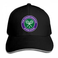 Wimbledon Tennis Adjustable Cap Snapback Baseball Hat