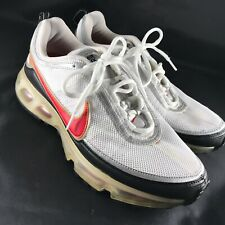 Nike Air Max 360 White Black Orange Silver Mens Size 9 US Rare 315380-161 42.5