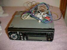 New listing 1980's Jensen Cassette Car Stereo Deck Cr560x Din Audio Eq Aux w/ WiringHarness