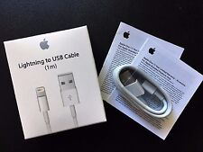 1m Lightning cable Charging USB Charger Data Cable for iPhone 7 6s Plus 5 iPod