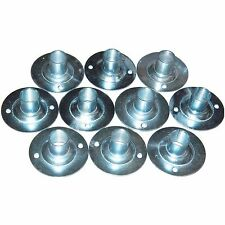 10 X 20mm Galvanised Female Dome Cover for Conduit Fittings - BA28820G