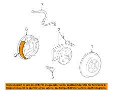 Pontiac GM OEM 01-05 Aztek Brake-Shoes 88950907