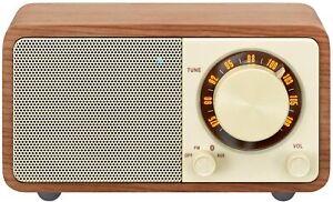Sangean WR-7 FM / Bluetooth / Aux-in Wooden Cabinet Receiver