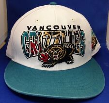 Vintage Vancouver Grizzlies Hardwood Classics 47 Brand Adjustable Hat Cap NBA