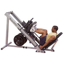 Body Solid Leg Press Hack Squat Hip Sled GLPH1100 - Make an Offer - NEW!