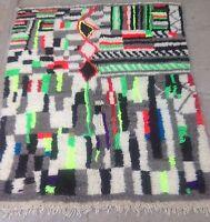 Beni Ouarain (Ourain) Moroccan Tribal Rug - VERY soft! 190 x 160cm (#275)