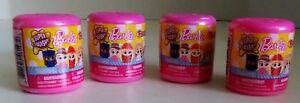 Lot Of 4 Fashems Mashems Barbie Series 1 New Unopened Sealed Blind Capsules Bag
