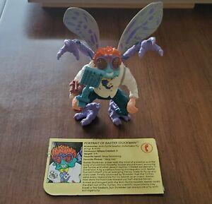 Baxter Stockman Teenage Mutant Ninja Turtles TMNT Action Figure Complete 1989