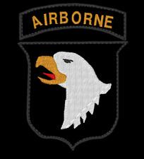 Patch Toppa Ricamo 101 airborne screaming eagle esercito usa paratrooper para
