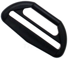 Doppel Schlaufe Reduzierer 40mm auf 25mm Kunststoff Gurtband schwarz
