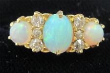 18 Carat Opal Yellow Gold Vintage Fine Jewellery