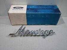 NOS 1972-1976 MERCURY MONTEGO CHROME FRONT FENDER SCRIPT...NEW IN FORD BOX