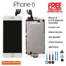 Blanc Retina LCD & Digitizer écran tactile complet Assemblée avec des pièces pour iPhone 6