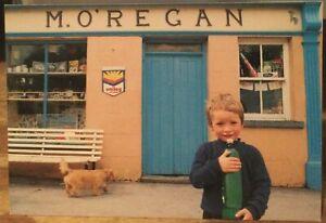 Irish Postcard Child M. O'REGAN Shop Kinvarra Galway Liam Blake Real Ireland 20