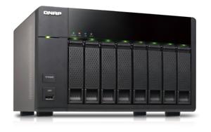 Qnap TS-869L - 8TB (2x 4TB) 8 Bay NAS Server 2Gb RAM (READ)