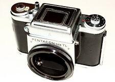 PENTACON SIX TL mit Sichtfenster für die Bildschrittkontrolle - Top Zustand!