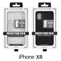 Case-Mate Protection Pack Case + Glass Screen Protector Apple iPhone XR