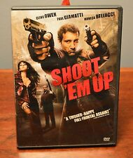Shoot 'Em Up (DVD, 2008) Clive Owen Paul Giamatti Monica Bellucci