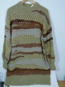NWT Urban Outfitters stunning Brock Striped Sweater Dress (model B)
