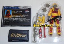 Hasbro G.I. Joe 50 Heated Battle BLOWTORCH Loose 50th Anniversary Hasbro GI