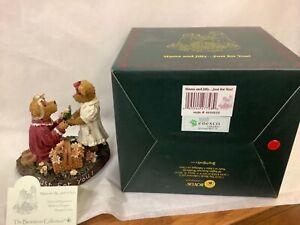 Boyds Bear Bearstone Mama and Jilly Just for You Wedding Figurine **1E**