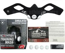 "Masque d'entrainement ""Elevation Training Mask 2.0 Blackout"" Noir Mat"